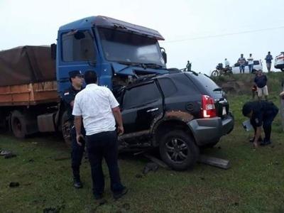 Mujer fallece tras grave accidente en Guairá