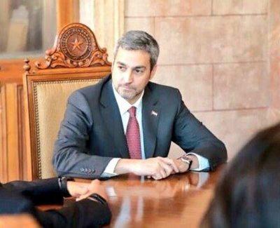 Presidente cumple agenda de trabajo en Palacio de Gobierno