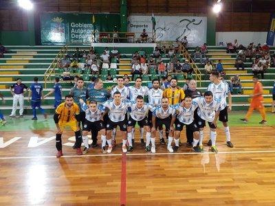 Semifinal paraguaya en el Sudamericano de fútbol de salón