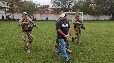 Concretan expulsión de jefe narco brasileño