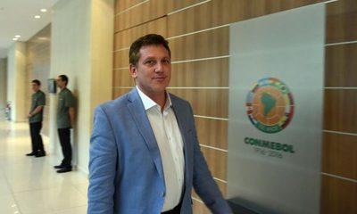 Alejandro Domínguez habló de dirigentes que lo atacan y de Chilavert