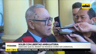 Soler con libertad ambulatoria