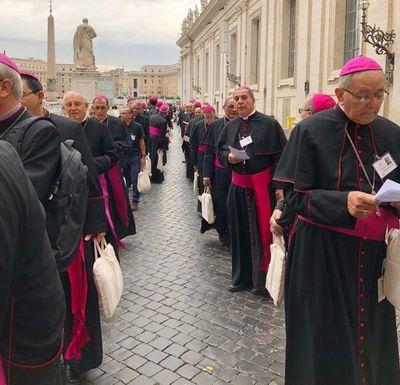 Monseñor Edmundo Valenzuela oîháme miembro Comisión de Redacción Sínodo Panamazónico