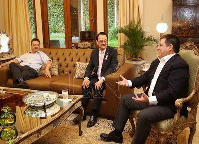 Cartes hará lobby ante Taiwán para aumentar envíos de carne