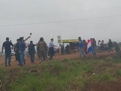 Advertencia de ministro fue cumplida por   Policía que despejó cierre de ruta