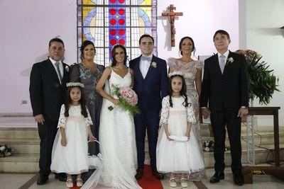 Enlace matrimonial Aponte Peralta-Delgado Ríos