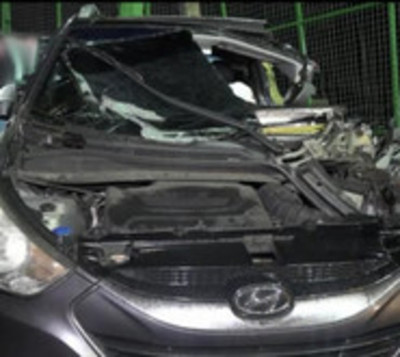 Triple choque deja varios heridos en San Lorenzo