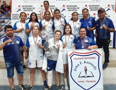 John F. Kennedy de Loreto es vicecampeón nacional en fútsal femenino