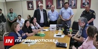 LA AIDI ENTREGÓ IMPORTANTES EQUIPOS PARA LA POLICÍA NACIONAL