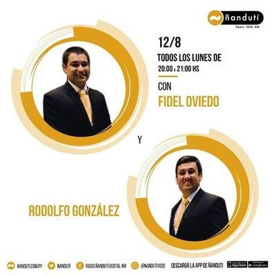 Doce Ocho con Fidel Oviedo y Rodolfo González