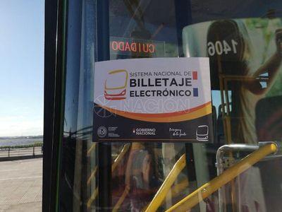 Padres deberán autorizar uso de billetaje electrónico para estudiantes