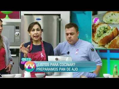 Pan de ajo y Flamenquines cordobeses en VLV