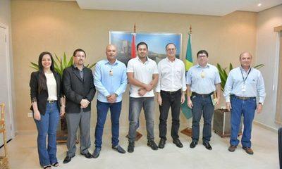 Intendente se reunió con Director General Paraguayo de Itaipu para coordinar acciones a favor del municipio de Ciudad del Este