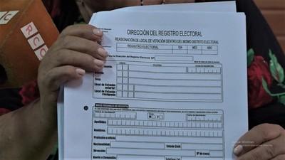 Habilitan nuevos locales de votación en Boquerón para próximas elecciones