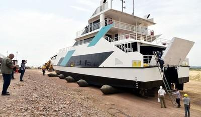 Sistema de transporte fluvial denominado Ferry; con dictamen técnico y jurídico favorable