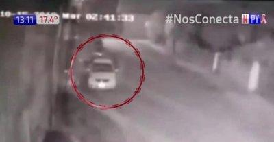 Le robaron el auto justo cuando sacó su GPS
