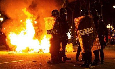 Crece la tensión en Catalunya
