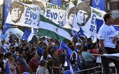 Bolivia va a elecciones el domingo próximo y Morales es el favorito