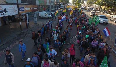 Campesinos preparan manifestación contra represiones del Gobierno