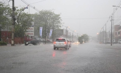 HOY / Pronostican lluvias hasta el fin de semana