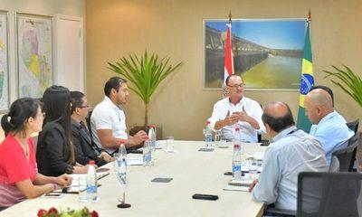 Planifican tareas entre Itaipu y municipio de CDE