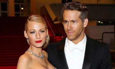 Ryan Reynolds compartió la primera foto de su tercer hijo