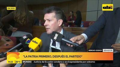 """Acuerdo Itaipú: """"El actor principal es el presidente de la República"""", según senador Godoy"""