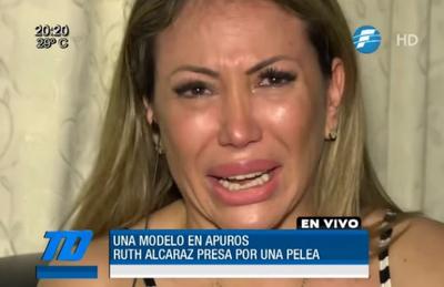 """Ruth Alcaráz: orgullosa de abandonar """"el asqueroso mundo de la farándula"""""""