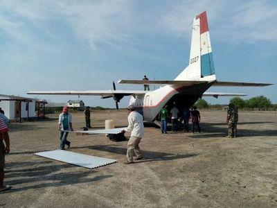 Ya llegó la asistencia para afectados por tormenta en Bahía Negra