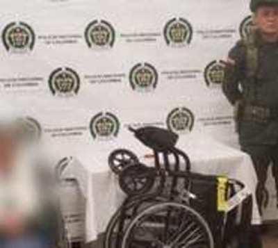 Abuela movilizaba kilos de cocaína en su silla de rueda