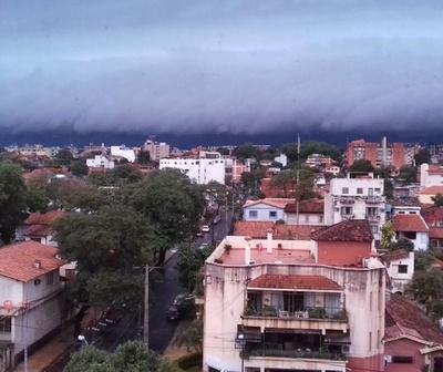 Lluvias y tormentas durante la jornada de hoy