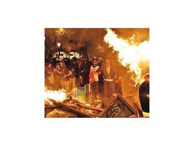 Independentismo movilizado en Barcelona
