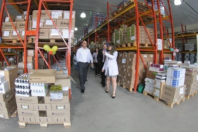 Medicamentos listos para abastecer servicios del país