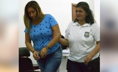 Mujer sentenciada a 5 años y 8 meses de cárcel por tenencia de drogas