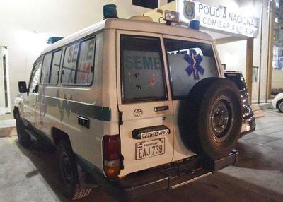 Chofer de ambulancia que atropelló y mató a mujer debe declarar ante Fiscalía