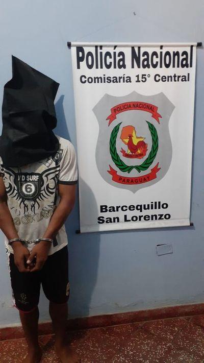 Ciudadanos persiguen y atrapan a ladrones en Fernando de la Mora