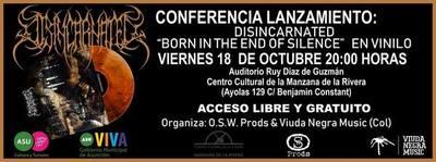 Disincarnated publica material discográfico luego de veinticuatro años de grabación
