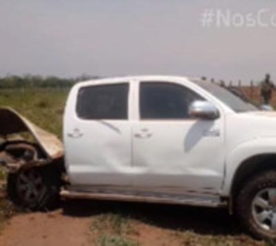 Atacan con bomba una camioneta en estancia del Norte