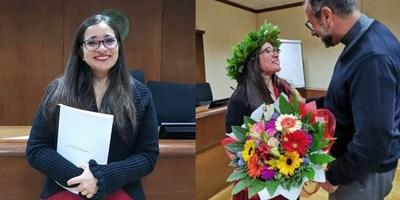 MARIELA GAUTO, PRIMERA DOCTORA EN DERECHO CANÓNICO DEL PARAGUAY