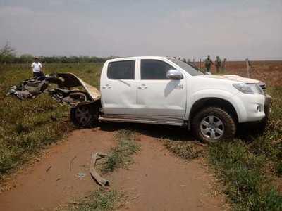 Horqueta: Atacan con explosivos camioneta de una estancia