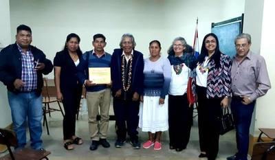 Reconocen trabajo de la Comisión Lingüística del Pueblo Nivaclé