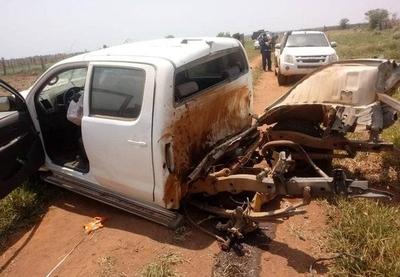 HOY / Atentado en el norte: atacan con bomba una camioneta