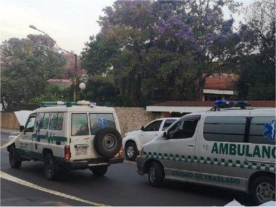 Imputan a chofer de ambulancia que arrolló a mujer en Asunción