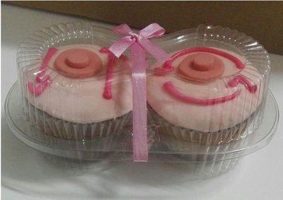 Octubre Rosa: cupcakes que enseñan a tocarte para que no te toque