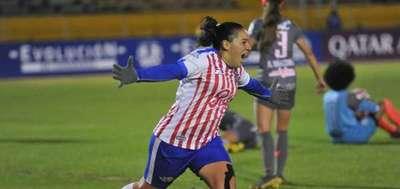 Libertad Limpeño golea a Ñañas en Libertadores Femenina