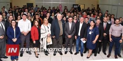 UNIVERSITARIOS RECIBIERON APORTES DE LA GOBERNACIÓN DE ITAPÚA