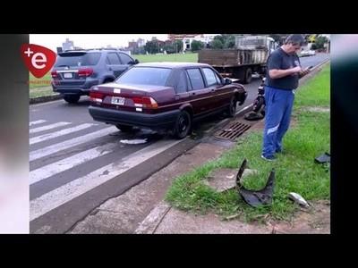 NIEGAN SUP, OMISIÓN DE AUXILIO A MOTOCICLISTA HERIDO