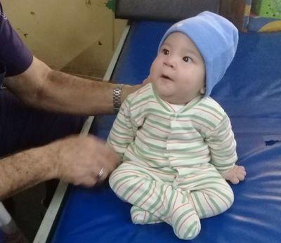 Bebé de 5 meses sufre de atrofia muscular y necesita ayuda