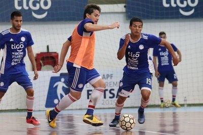 Están los 14 albirrojos para la Copa América de Futsal