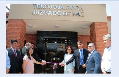 Pedro Juan Caballero cuenta con nuevo Juzgado de Paz